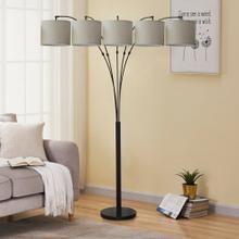 See Details - 2833 5-Headed Floor Lamp