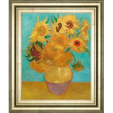 Still Life Vase With Twelve Sunflowers, January 1889 By Vincent Van Gogh