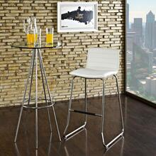 See Details - Dive Bar Stool in White