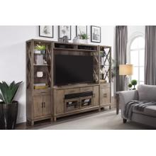 MIDTOWN 4 piece Entertainment Wall