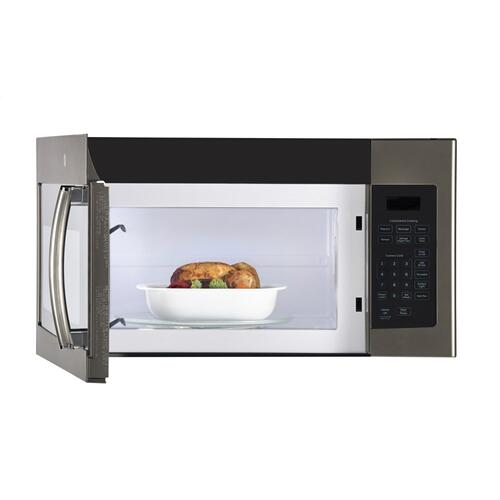 GE 1.6 Cu.Ft. Over-The-Range Microwave Oven Slate JVM1635SLJC