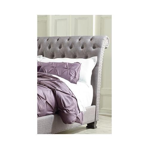 Standard Furniture - Garrison 2-Piece Queen Size Upholstered Bed