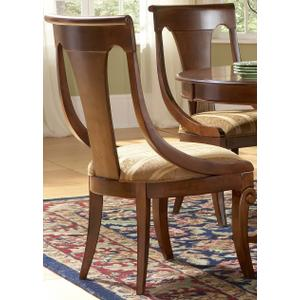 Liberty Furniture Industries - Bowed Slat Back Side Chair