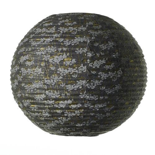 20.75'' x 16'' Grey Carouse Paper Lantern