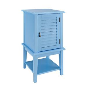 Ocean Blue Shutter Door Table