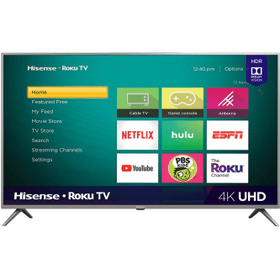 """70"""" Class - R6290 Series - 4K UHD Hisense Roku TV with HDR (2019) SUPPORT"""