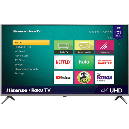 """Gallery - 70"""" Class - R6290 Series - 4K UHD Hisense Roku TV with HDR (2019) SUPPORT"""