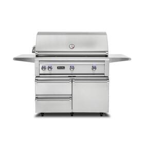 "42""W. Freestanding Grill with ProSear Burner and Rotisserie - VQGFS5421 Viking 5 Series"