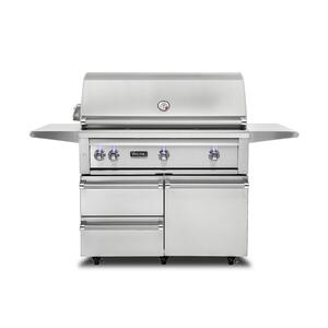 """Viking42""""W. Freestanding Grill with ProSear Burner and Rotisserie - VQGFS5421"""