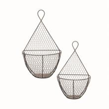 Bazaar Wall Baskets, Set of 2