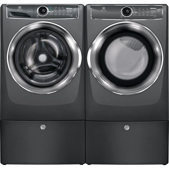 Electrolux - Front Load Perfect Steam Electric Dryer with Instant Refresh and 9 cycles - 8.0 Cu. Ft.