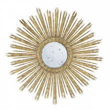 Large Gold Skovde Mirror