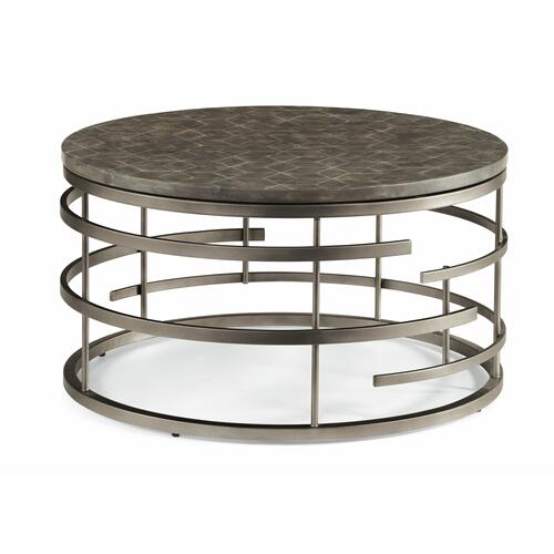 Flexsteel - Halo Round Coffee Table