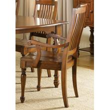 View Product - Slat Back Arm Chair