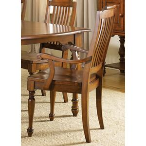 Liberty Furniture Industries - Slat Back Arm Chair