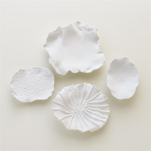 Maitake Wall Decor-Criss Cross-Soft White