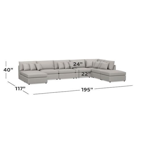 Bassett Furniture - Beckham U-Shaped Sectional