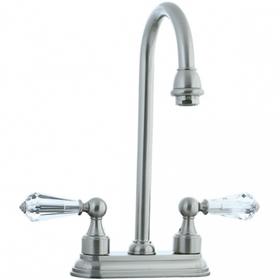 """Asbury - 4"""" Centerset Bar Faucet - Aged Brass"""