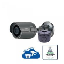 2MP Ultra Intensifier® Bullet IP Camera with Junction Box 3.6mm fixed lens, dark gray housing