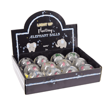 Light Up Floating Elephant Balls (12 pc. ppk.)