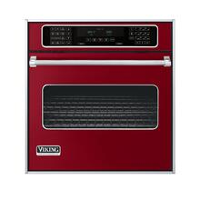 "Apple Red 27"" Single Electric Touch Control Premiere Oven - VESO (27"" Wide Single Electric Touch Control Premiere Oven)"