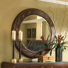 Round Ribbon Mirror