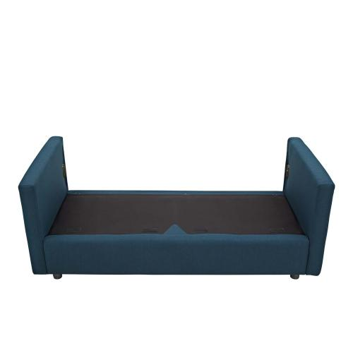 Activate Upholstered Fabric Sofa in Azure
