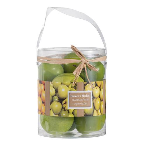 Faux Fuji Apples-9 pieces