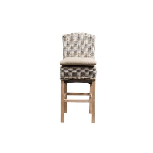 Capris Furniture - 30'' Bar Stool, Available in Washed Texture Finish Only.