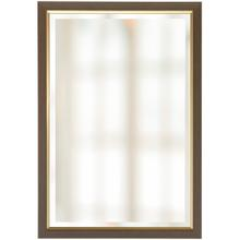 FRAMED BEVELED MIRROR  28in w X 40in ht  Made in USA