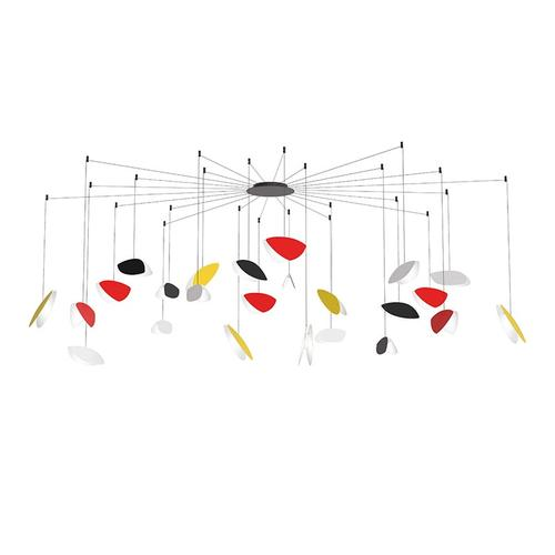 Sonneman - A Way of Light - Papillons LED Pendant [Size=24-Light Swag, Color/Finish=Assorted Shade Colors]