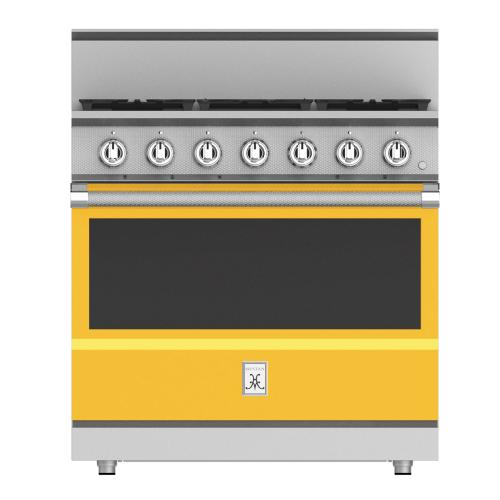 "36"" 5-Burner All Gas Range - KRG Series - Sol"