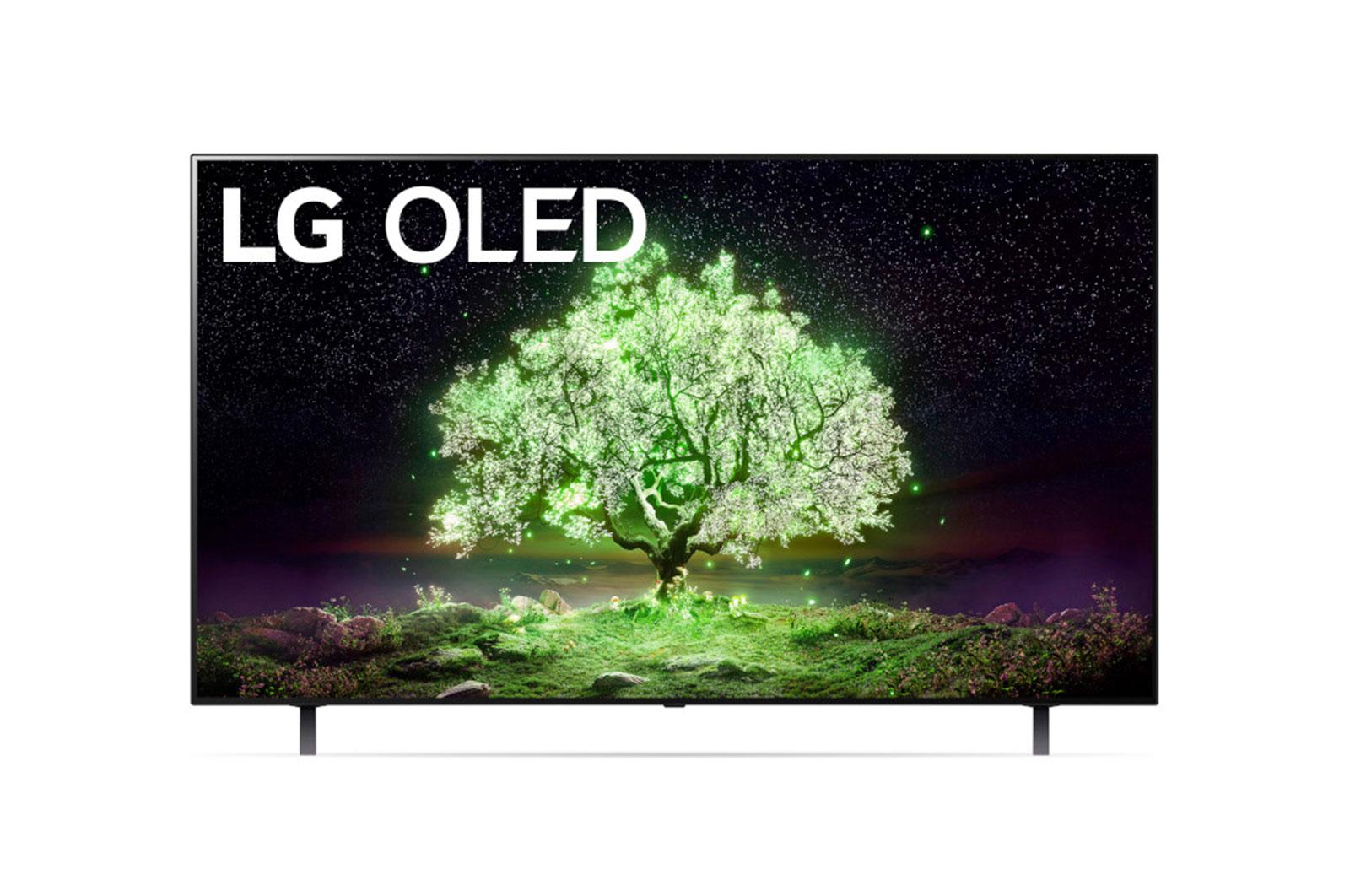 LG A1 55 inch Class 4K Smart OLED TV w/ ThinQ AI® (54.6'' Diag)