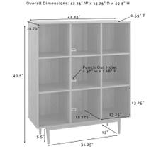 See Details - Liam 9 Cube Bookcase