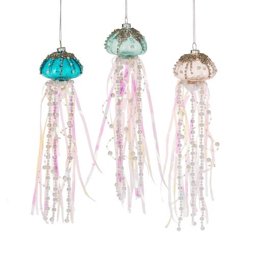 Jelly Fish Ornaments (3 asstd)