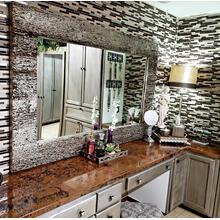 See Details - Bathroom Vanity Tops- Hammer Copper Counter Tops - Natural Copper