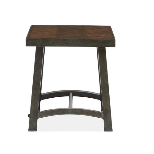 Magnussen Home - Rectangular End Table