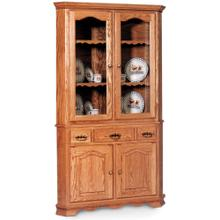 """View Product - Shaker Closed Corner Hutch, 33 """""""