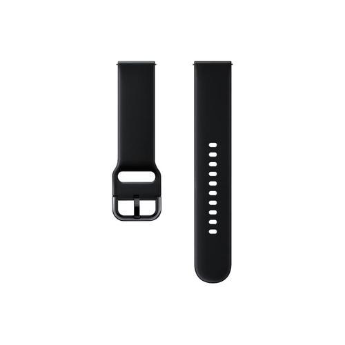 Samsung - Fluoroelastomer Band (20mm) Black
