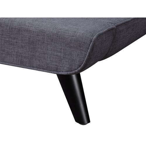Tov Furniture - Nixon Grey Linen Bed in King