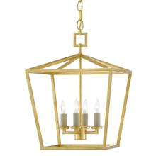 View Product - Denison Gold Small Lantern