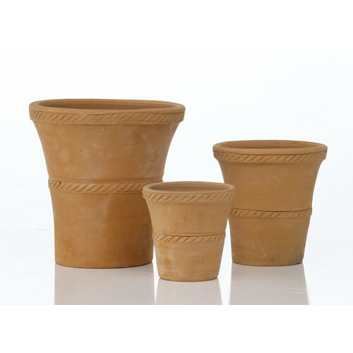 Barro Hand-Thrown Tall Flare Planter- set of 3