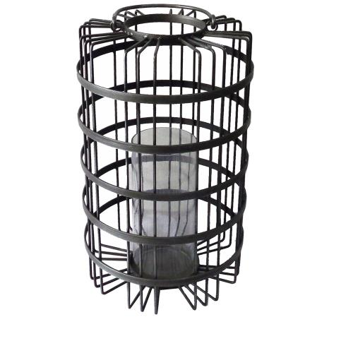 Crestview Collections - Calhoun Large Woven Candle Holder