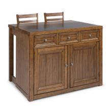 Tuscon 3 Piece Kitchen Island Set