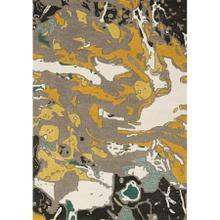 Kaleido 7064 Grey Teal Yellow 6 X 8