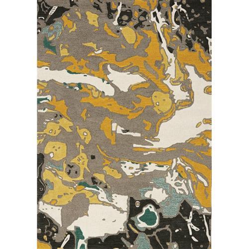 Kaleido 7064 Grey Teal Yellow 8 X 11