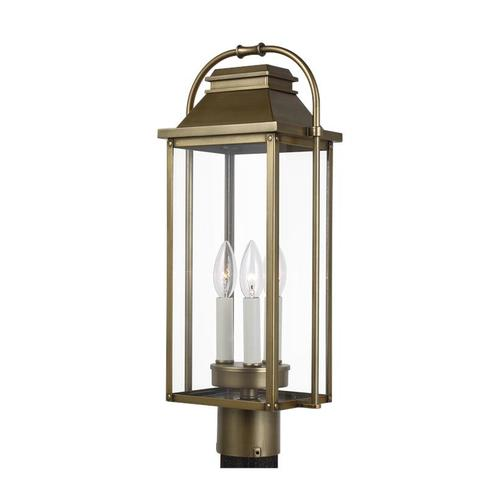 Wellsworth Post Lantern Antique Bronze