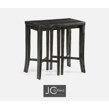 See Details - Nesting Cocktail Tables in Dark Ale