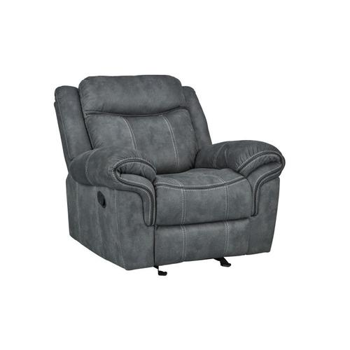 Knoxville Glider Recliner, Charcoal