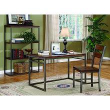 Desk, Chair, & Bookcase